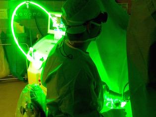 Der Green Light Laser stellt eine Alternative zur Prostatahobelung (TUR-P) dar.